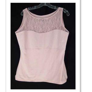 Spanx Slimming Pink Camisole Tank by Sarah Blakey